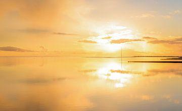 vlieland golden sunset von hein van houten