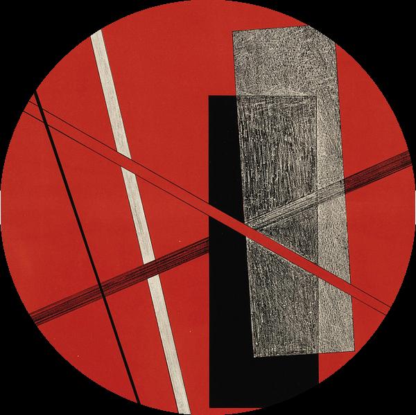 Bauhaus, Zonder titel, uit de portfolio Konstruktionen, Kestnermappe 6 - László Moholy-Nagy, 1923 van Atelier Liesjes