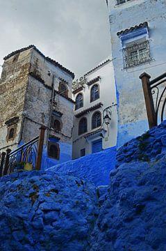 Mystische blaue Medina von Zoe Vondenhoff