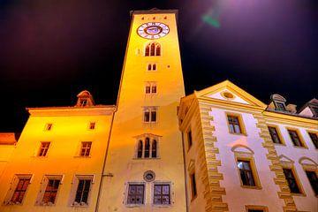 Turm Altes Rathaus zu Regensburg von Roith Fotografie
