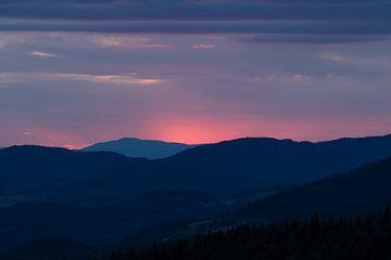Sonnenuntergang im Schwarzwald | Deutschland von Marianne Twijnstra-Gerrits