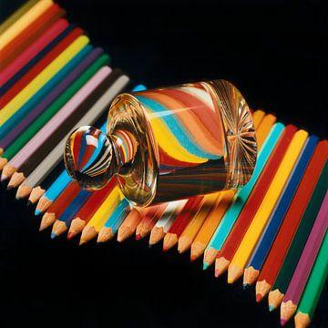 Colors on the Left van Hans den Boer