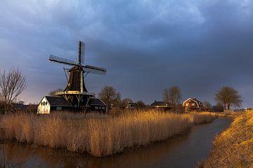 Windmill FRAM in Woltersum von Ron Buist
