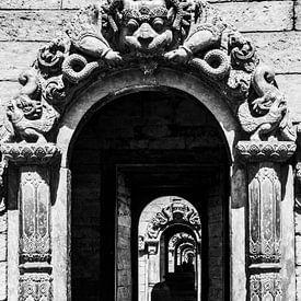 Doorzicht Tempel von Joost van Riel