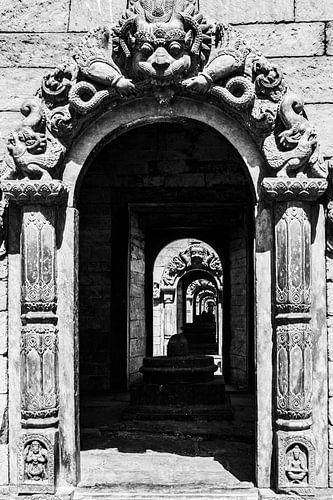 Doorzicht Tempel