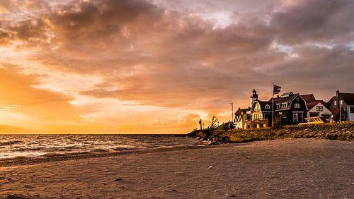Urk, eine große historische Fischer (ehemalige) Insel von Harmen Goedhart