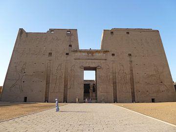 Edfu Tempel / Tempel van Horus Egypte van