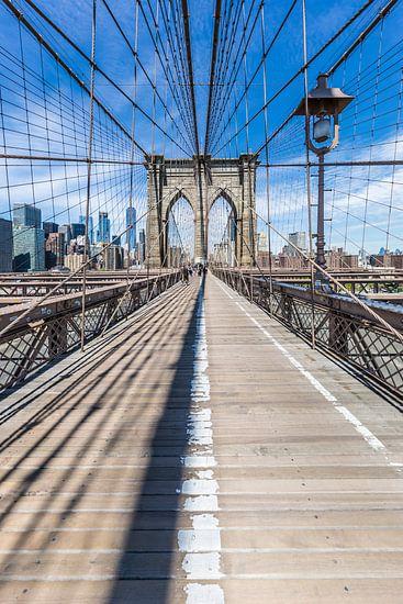 NEW YORK CITY Brooklyn Bridge van Melanie Viola