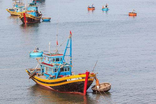 Vietnamese vissersboten