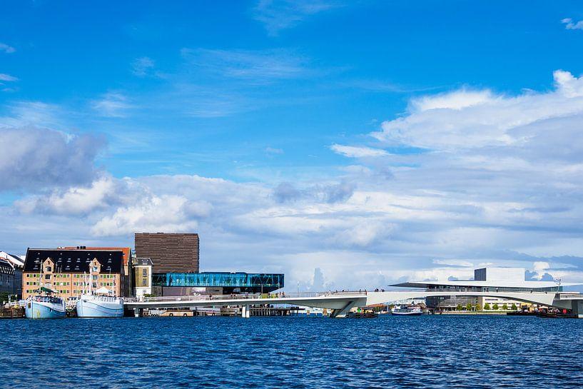 Gebäude in der Stadt Kopenhagen, Dänemark sur Rico Ködder