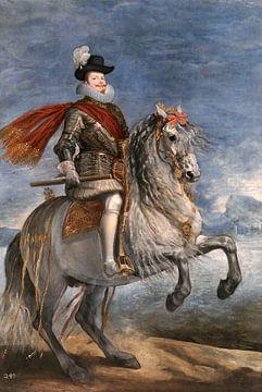 Portrait équestre de Philippe III, Diego Velázquez - 1634 sur