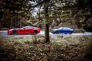 Chevrolet Corvette GS - BMW M4 CS