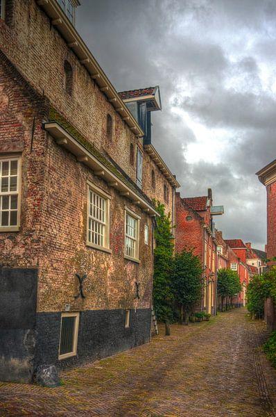 Historische Muurhuizen Amersfoort Nederland van Watze D. de Haan