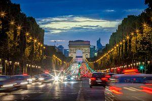 Champs Elysees van