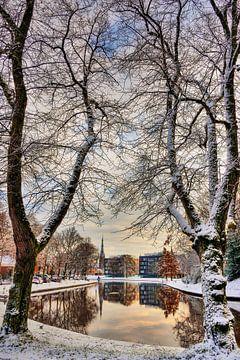 Stadsgracht Leeuwarden von
