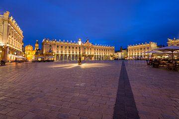 Het prachtige centrum Place Stanislas in de Franse stad Nancy  van