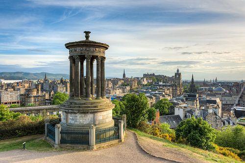 Edinburgh Calton Hill van Michael Valjak