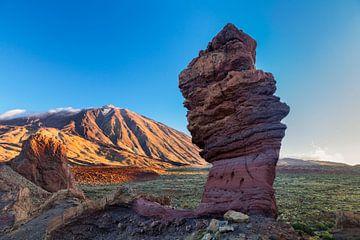 Los Roques de Garcia, Pico del Teide, Tenerife, Canarische Eilanden, Spanje van Markus Lange