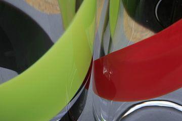 symfonie in zwart, groen, en rood von hetto hettema