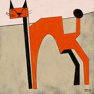 Red cat van Martin Groenhout