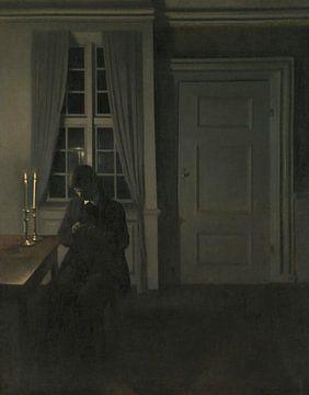 Der Münzsammler, Vilhelm Hammershøi
