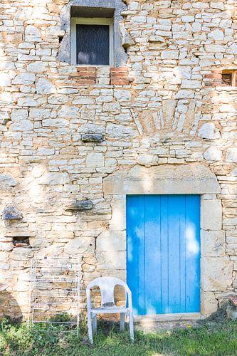 Zijkant Frans huis