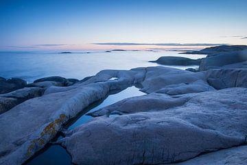 Zweedse kust van Douwe Schut