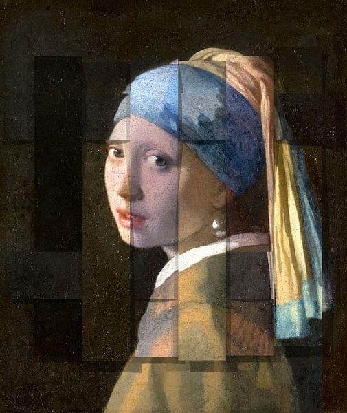 Das Mädchen mit dem Perlenohrring von Rudy & Gisela Schlechter