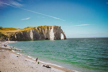 Die Klippen von Etretat, Normandie, Frankreich (1) von Daphne Groeneveld