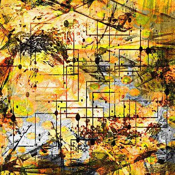 Map of the universe von PictureWork - Digital artist