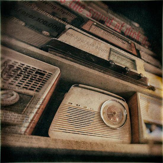 Radio oldstyle van Rob van der Teen