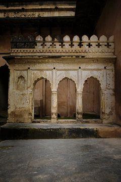 détail du temple Raj Mahal sur Karel Ham