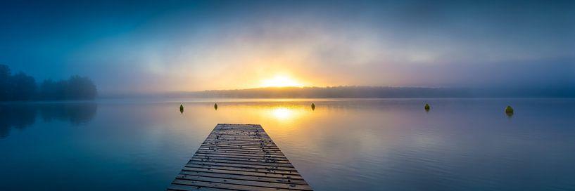 Herfst aan het meer van Martin Wasilewski