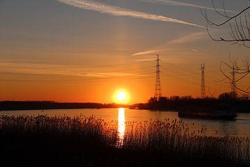 zonsondergang van victor truyts