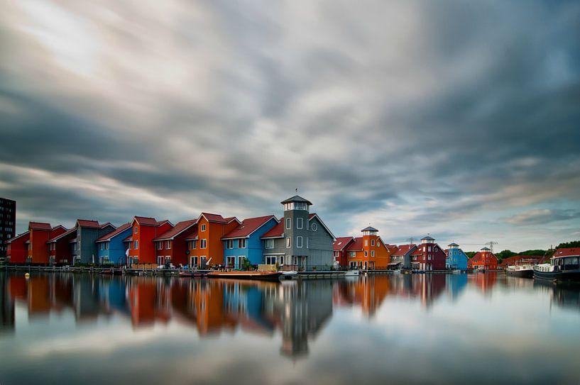 Reitdiephaven | Groningen, the Netherlands van Frank Tauran