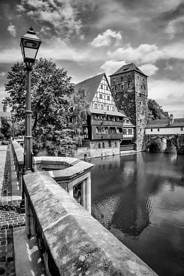 NUREMBERG View from Maxbridge to Hangman?s Bridge