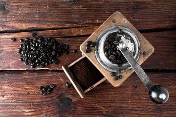 alte Kaffeemühle von Jürgen Wiesler