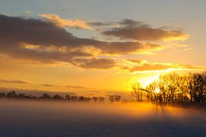 Sunrise van Ralph Hamberg