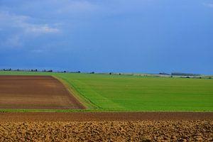 Landshaft in Nordfrankreich.