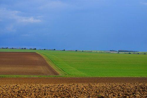Landschap in Noord Frankrijk