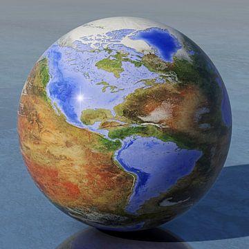 Die umgekehrte Welt - Amerika von Frans Blok
