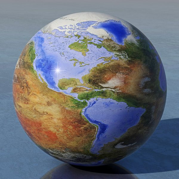 De omgekeerde wereld - Amerika van Frans Blok