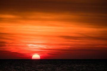Zeeuwse zonsondergang van Mario Lere