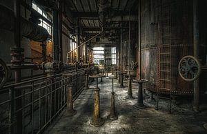 Verlassener Maschinenraum