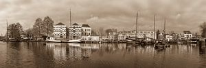 Panoramafoto Museumhaven Gouda