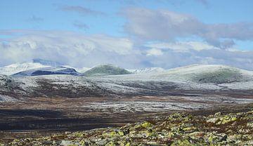 Der Winter naht im norwegischen Hochland von Maarten Heijkoop