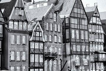 Hamburgse pakhuisdistrict van Kirsten Warner