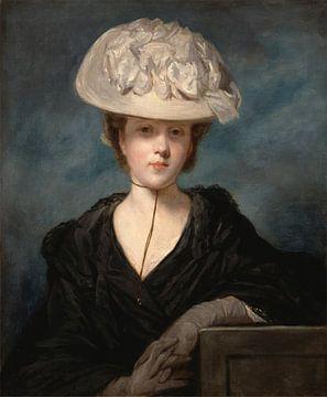 Miss Mary Hickey, Joshua Reynolds sur