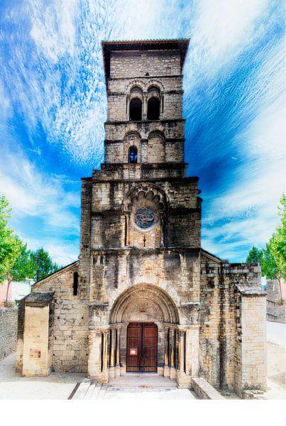 Kapel (Abbaye Notre Dame de Cruas, Frankrijk) van Erik Reijnders