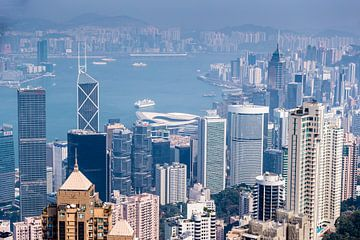 Hongkong van bovenaf van Inge van den Brande